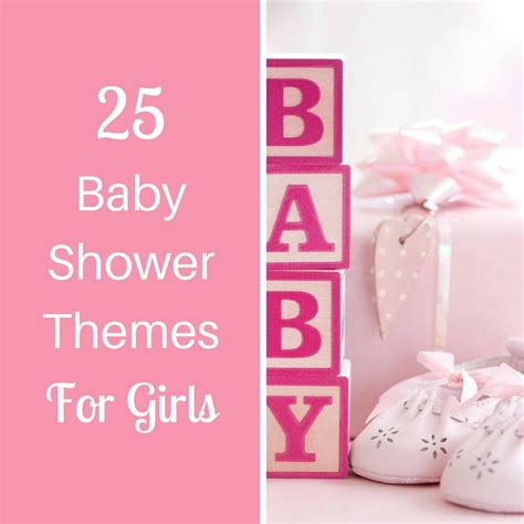 themes of girl 25 baby shower themes for girls