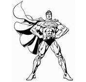 Superman Coloring Pages  Free Printable Cool