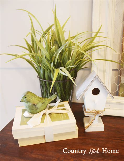 country girl home decor country girl home a little spring decorating