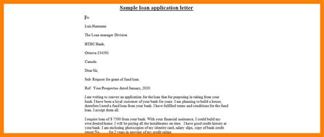 How To Write A Loan Application Letter To The Bank 5 how to write application for loan emt resume