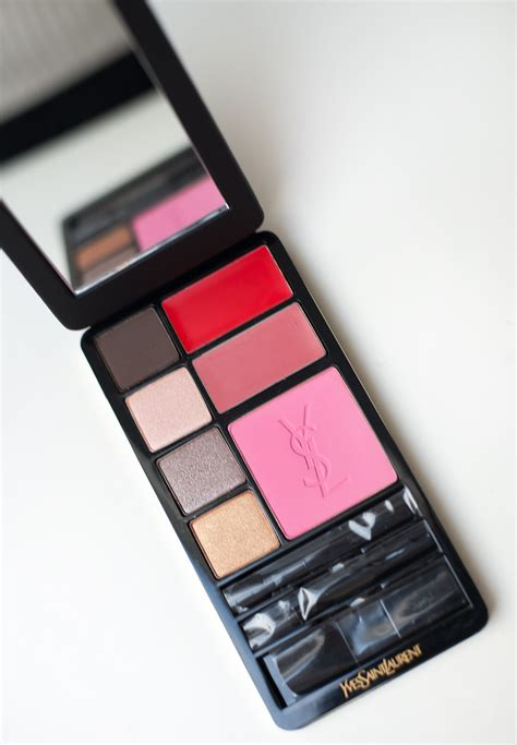 Make Up Ysl ysl black edition make up palette the musthaves