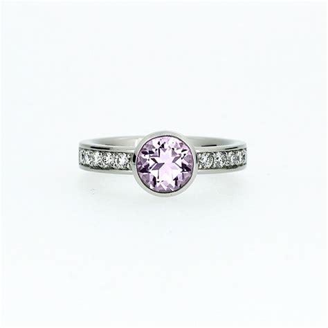 light amethyst engagement rings light purple amethyst engagement ring solitaire