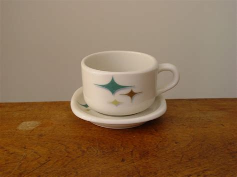 modern coffee cups mid century modern coffee cup and saucer atomic stars