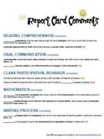 Report Book Comments For Preschoolers by 1000 Images About Grading And Report Card Comments On Report Card Comments Report