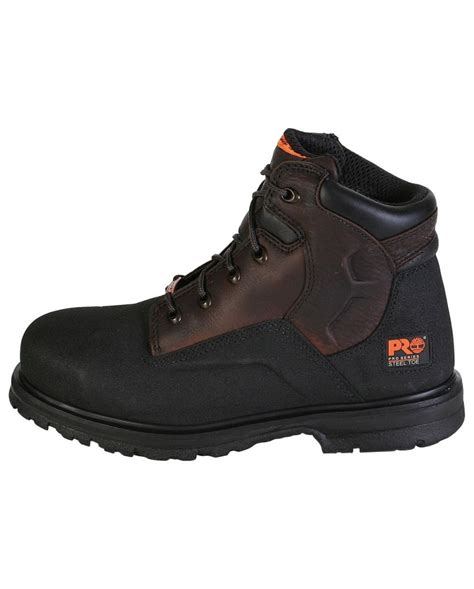 steel toe boots for timberland pro 174 s 6 quot powerwelt steel toe boots fort