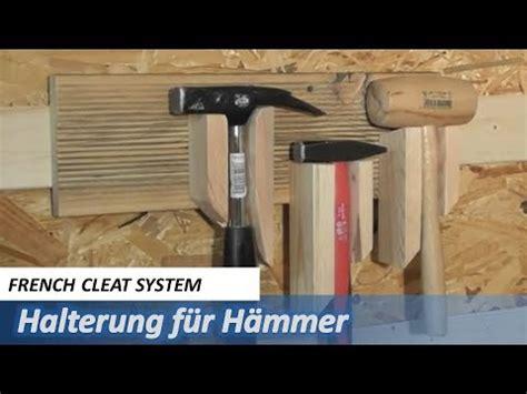 werkstatt papierrolle cleat system halterung f 252 r hammer