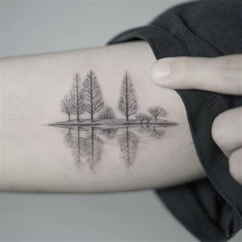 tattoo care in winter the 25 best small tree tattoos ideas on pinterest pine