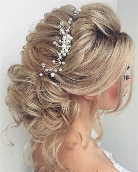65 bridesmaid hair bridal hairstyles for wedding 2017 deer pearl flowers part 4