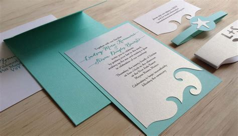 beach themed wedding invitation beach theme wedding