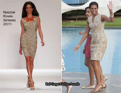 Catwalk To Carpet Naeem Khan Carpet Style Awards 2 by Obama In Naeem Khan Palacio Da Alvorada