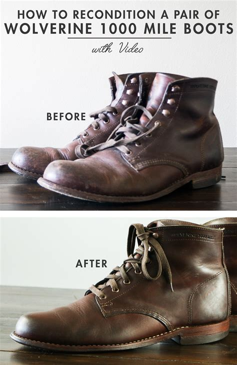 What Is Your Favorite Boot Height by How To Recondition Your Favorite Pair Of Boots Plus