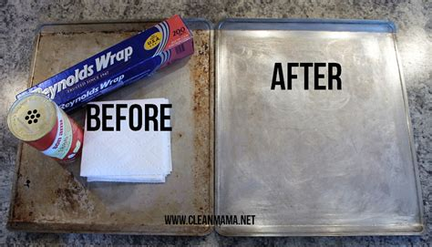simplify the season how to clean baking sheets pans in