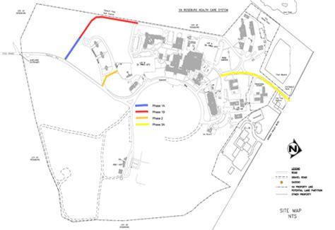 road construction begins roseburg va health care system