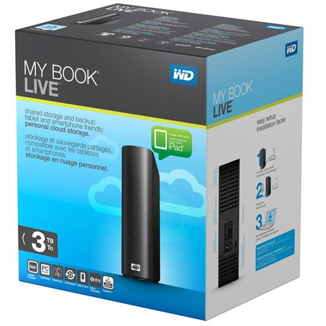 My Digital 2 by Wd My Book Live 2tb Personal Cloud Storage Nas