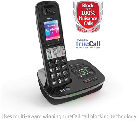 call house phone bt 8500 advanced call blocker cordless home phone ebay