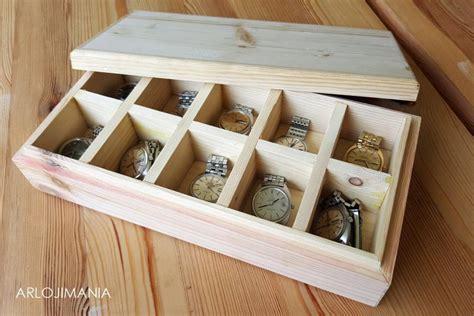 Kotak Jam Tangan Kayu By Desolshop kotak jam jangan arloji kayu jati belanda arlojimania