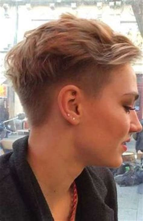 side cut that back fine boyish pixie cut styles hair pinterest search