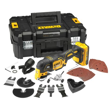 Dewalt Dcs355d2 Kr Li Ion Brushless Multi Tool dewalt dcs355d2 oscillating multi tool 18v li ion cordless brushless 2 x 2ah batteries with 35