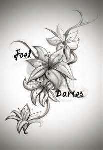 Lillie Flowers - lily tattoos designs and ideas page 55