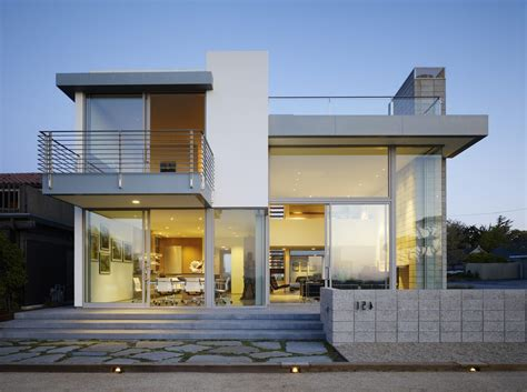 Glass Front House by Modern House Design Exterior Contemporary With Strong