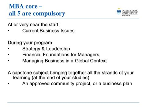 Mba Capstone Business Plan by Master Business Administration Cook 2011