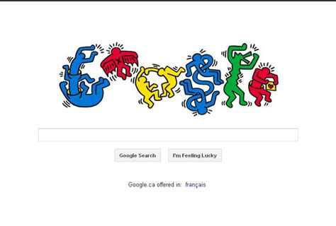 doodle today keith haring artist and activist celebrated in today s