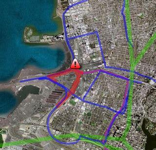 miles brown oakland university google lat long citizen journalism meets my maps