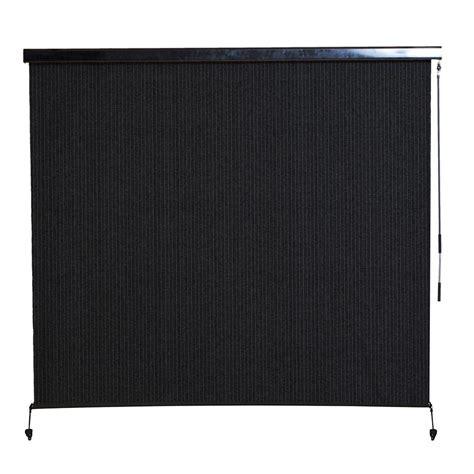 all weather l shades coolaroo montecito cordless hdpe 95 uv block exterior