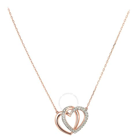 swarovski jewelry swarovski dear medium necklace 5194826 swarovski
