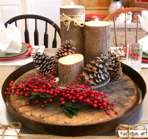 christmas table centerpieces to make 14 days of make it merry at home