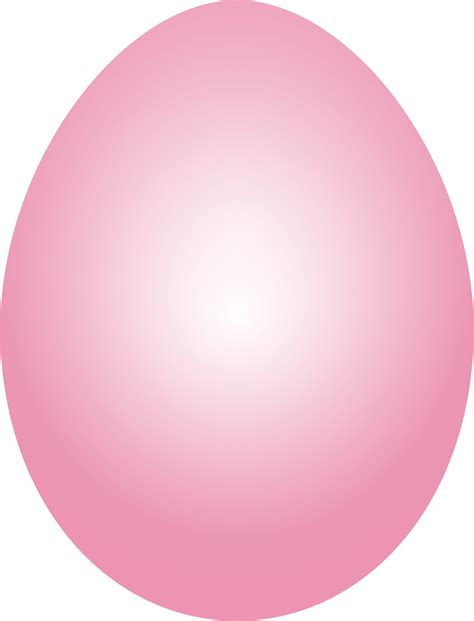 clipart pink easter egg