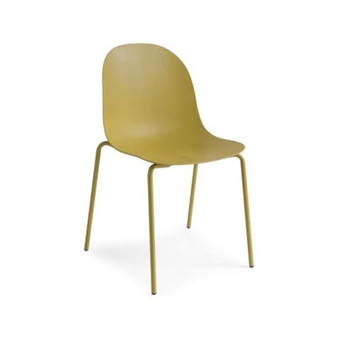 Academy Chairs by Academy Cb 1663 Metal And Plastic Dining Chair By Connubia