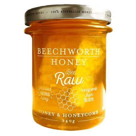 Top Five Honey Products by Bee Honey Honeycomb 240g Jar Beechworth Honey