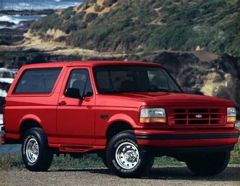bronco car 1996 ford bronco specs 1992 1993 1994 1995 1996