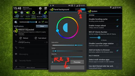 android themes xposed how to create your own customised version of android with