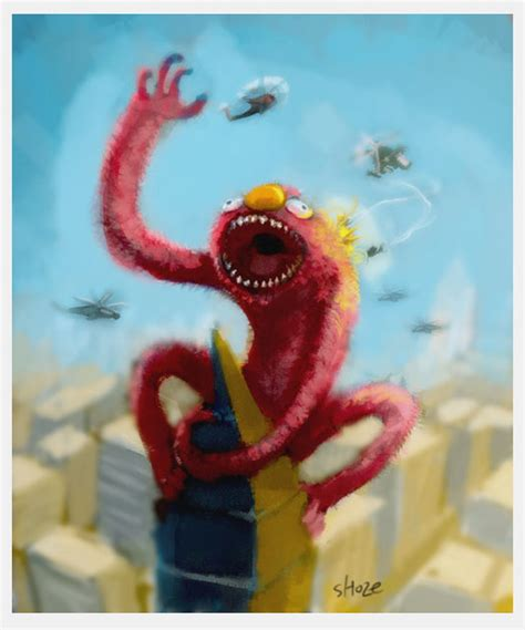 painting elmo elmo by shoze on deviantart