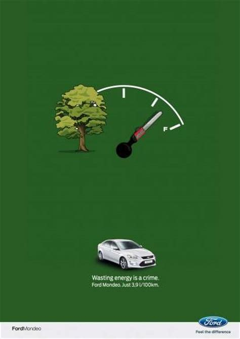 eco world new year advertisement eco fuel guage ads ford mondeo
