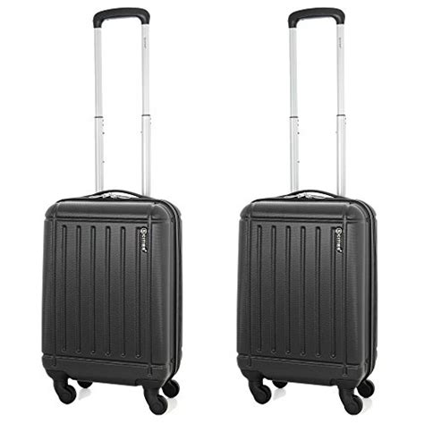 Liquids In Cabin Luggage by 5 Cities Lightweight Abs Shell Carry On Cabin Luggage Suitcase With 4 Wheels Approved