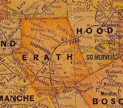 erath county texas map erath county texas map texas