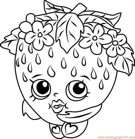 shopkins coloring page pdf strawberry kiss shopkins coloring page free shopkins