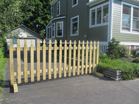 latest innovations   household driveway gate diy