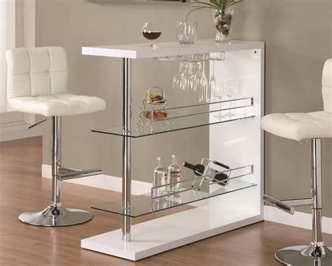 rectangular glass bar table contemporary bar table co 100165 bar tables bars