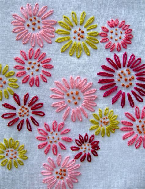 Embroidery Designs Handmade - best 25 embroidered flowers ideas on