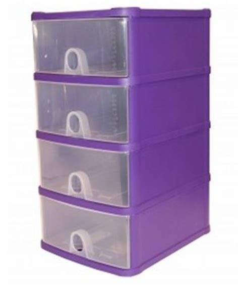 Plastic 4 Drawer Storage Tower by Plastic 4 Drawer Draw Tower Storage Unit Office Garage A5