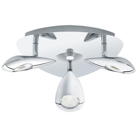 pedregal three light led ceiling fitting 95752 the
