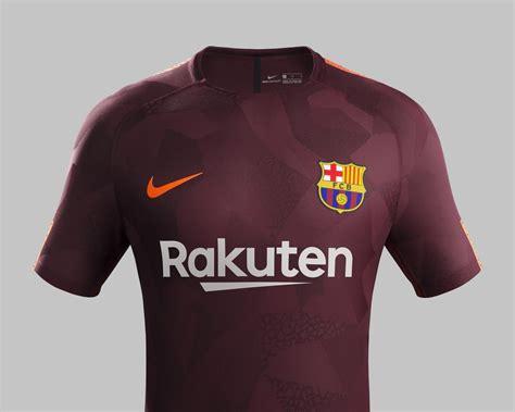 Barcelona Third fc barcelona 17 18 third kit released footy headlines