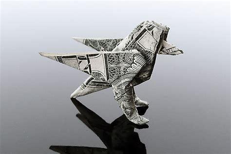 money origami bird craig folds five manipulates money into amazing origami