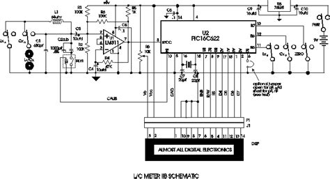 inductor schematic the free information society capacitance and inductance meter electronic circuit schematic