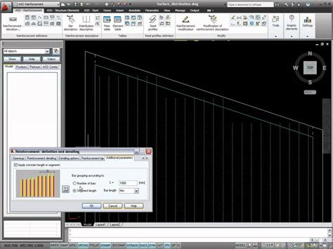 autocad 2011 structural detailing tutorial reinforcement autocad structural detailing 2011 surface distribution