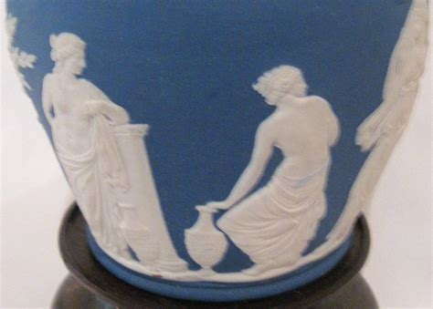 large early wedgwood blue portland vase stand for sale